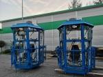 Produkcja kabin suwnicowych zgodnie z wymaganiami klienta.