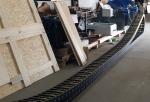 Dostawa prowadników kablowych w komplecie z kablami, korytkami jak i systemem mocowania.