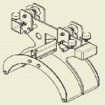 36000-2 Wózek kablowy zabierakowy WGWK-Z-360