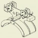 46000-2 Wózek kablowy zabierakowy WGWK-Z-460