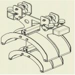 46000.36000 - 2 Wózek kablowy zabierakowy WGWK-Z-460/360