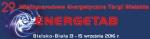 Targi ENERGETAB Bielsko-Biala 13–15 września 2016 r
